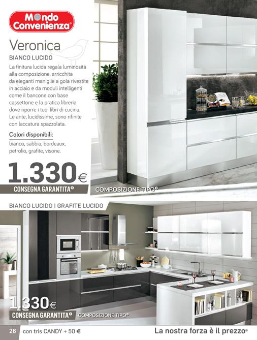 Beautiful Come Sono Le Cucine Di Mondo Convenienza Contemporary ...