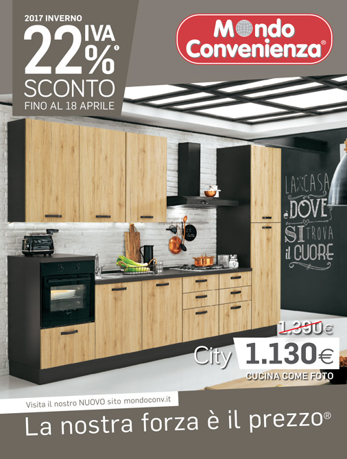 Mondo convenienza catalogo inverno 2017 - Offerte cucine mondo convenienza ...